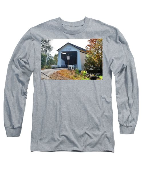 Gallon House Covered Bridge Long Sleeve T-Shirt
