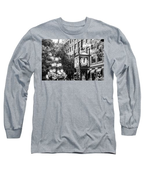 Gastown Steam Clock Long Sleeve T-Shirt
