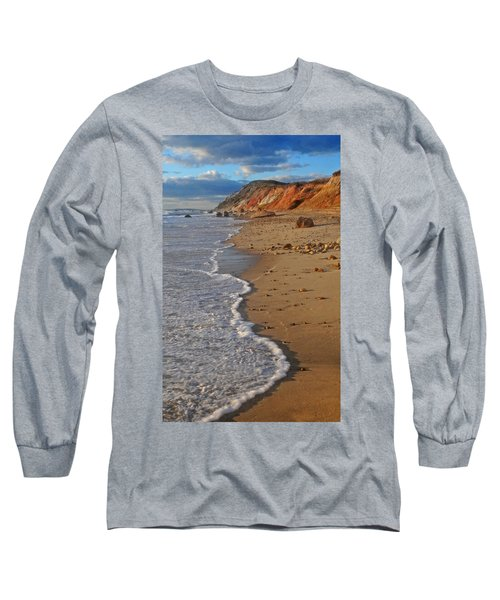 Gayhead Cliffs Marthas Vineyard Long Sleeve T-Shirt