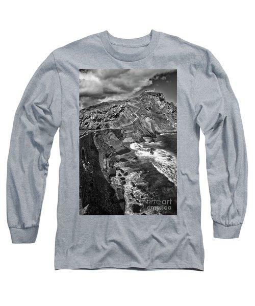 Gaztelugatxe Dragonstone Bw Long Sleeve T-Shirt