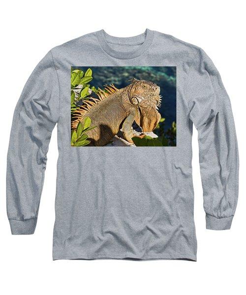Giant Iguana Long Sleeve T-Shirt