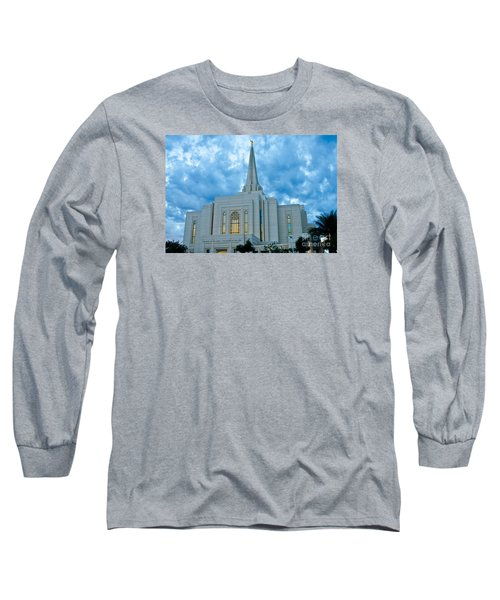 Gilbert Arizona Lds Temple Long Sleeve T-Shirt