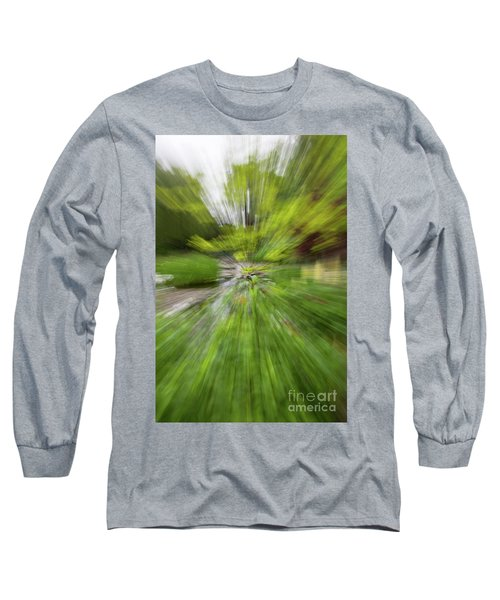 Giverny Monet's Garden Long Sleeve T-Shirt
