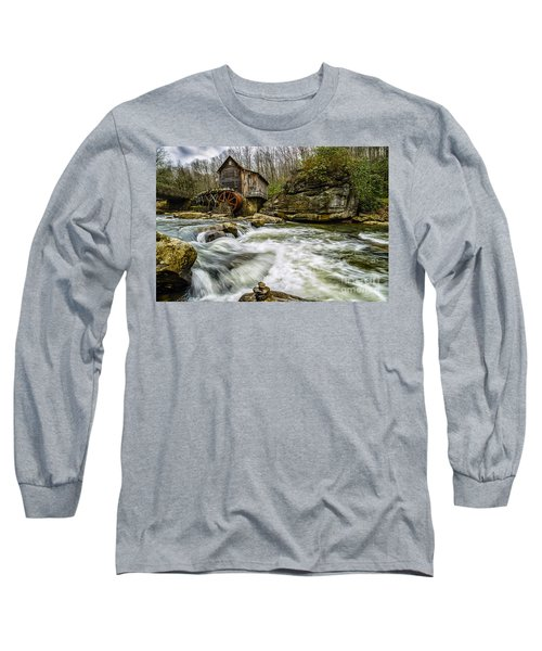 Glade Creek Grist Mill Long Sleeve T-Shirt by Thomas R Fletcher