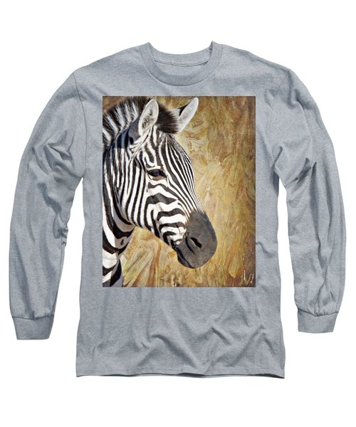 Grant's Zebra_a1 Long Sleeve T-Shirt