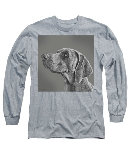 Gray Ghost Long Sleeve T-Shirt