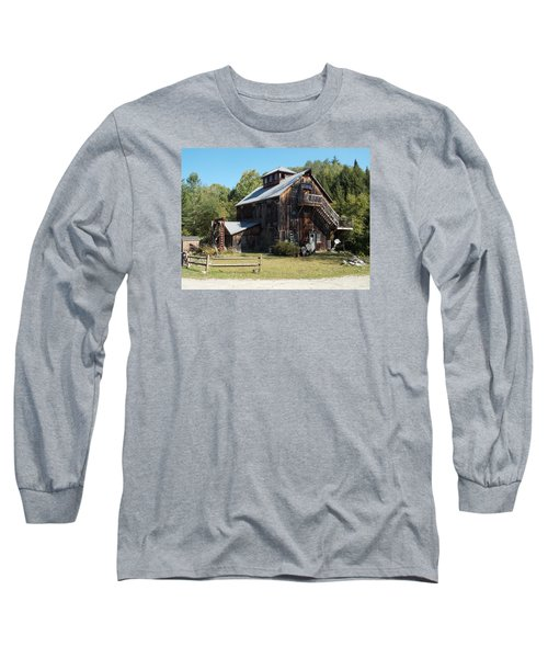 Grist Mill Long Sleeve T-Shirt by Catherine Gagne