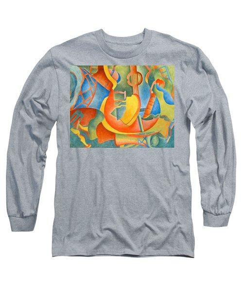 Grosse Guitare Long Sleeve T-Shirt