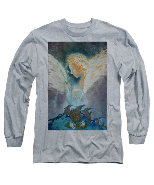 Angelic Encounters  Long Sleeve T-Shirt