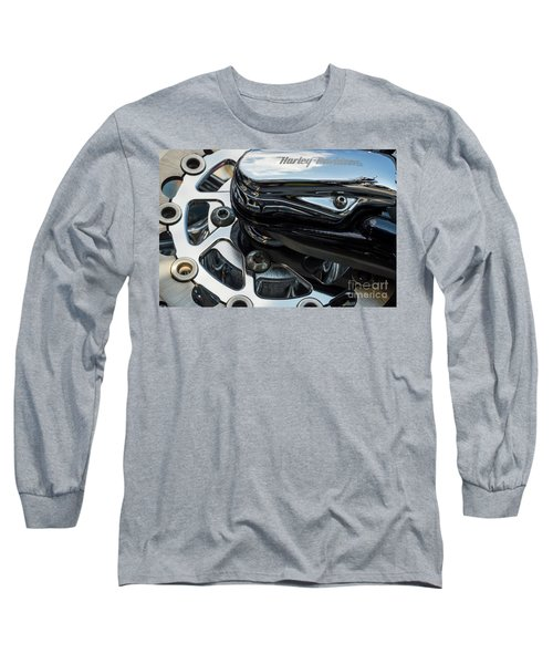 Long Sleeve T-Shirt featuring the photograph Harley Davidson 15 by Wendy Wilton