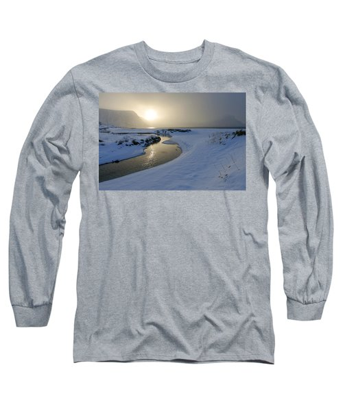 Haukland Beach, Lofoten Long Sleeve T-Shirt