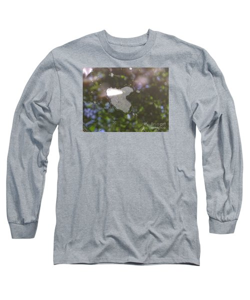 Long Sleeve T-Shirt featuring the photograph heART bubbles by Nora Boghossian