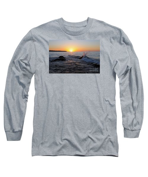 Long Sleeve T-Shirt featuring the photograph Here Comes The Sun by Sandra Updyke