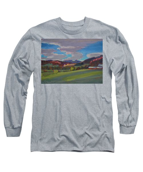 Hills Of Upstate New York Long Sleeve T-Shirt