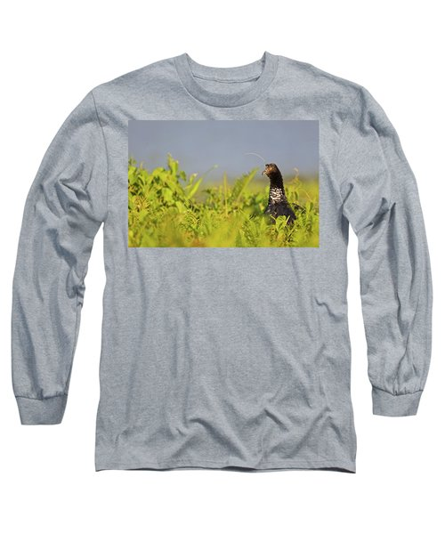 Horned Screamer Long Sleeve T-Shirt