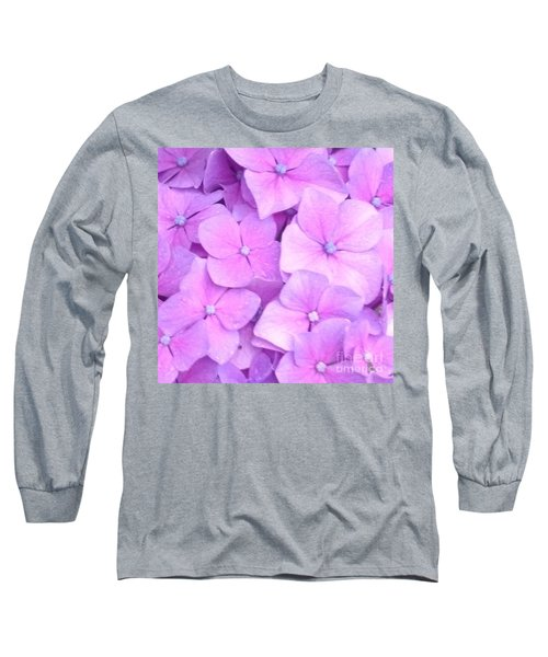 Hydragea  Long Sleeve T-Shirt