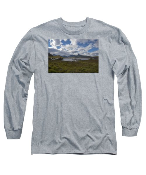 Long Sleeve T-Shirt featuring the photograph In Glencoe Uk by Dubi Roman