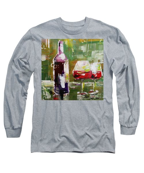 In Vino Veritas. Wine Collection Long Sleeve T-Shirt