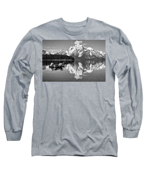 Jackson Lake, Gtnp  Long Sleeve T-Shirt