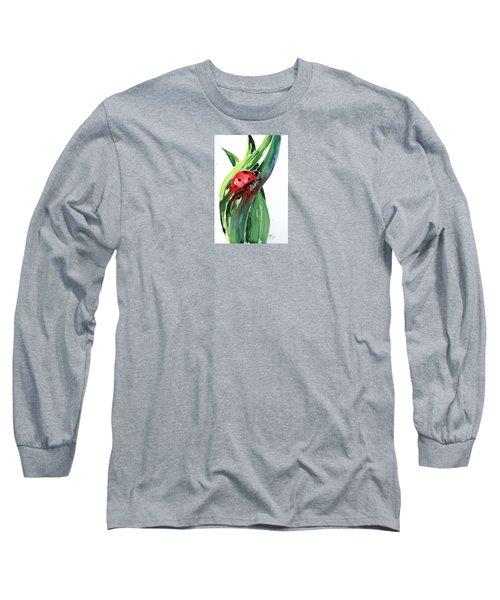 Ladybird Long Sleeve T-Shirt by Kovacs Anna Brigitta