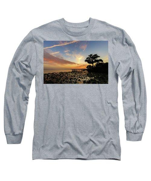 Lake Sunrise Long Sleeve T-Shirt