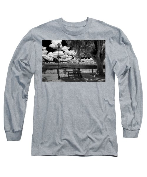 Long Sleeve T-Shirt featuring the photograph Lake View by Lewis Mann