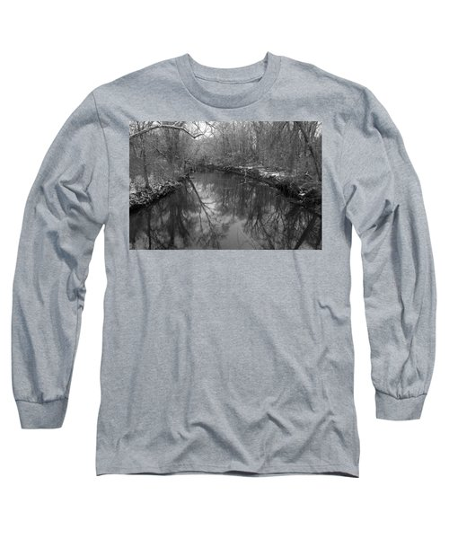 Late Winter In Philly Long Sleeve T-Shirt by Dorin Adrian Berbier