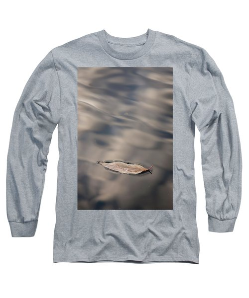 Leaf On Water Long Sleeve T-Shirt