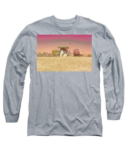 Lifeguard Tower 3 Long Sleeve T-Shirt