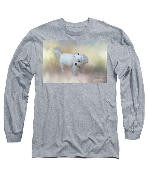 Little Cutie Long Sleeve T-Shirt by Eva Lechner