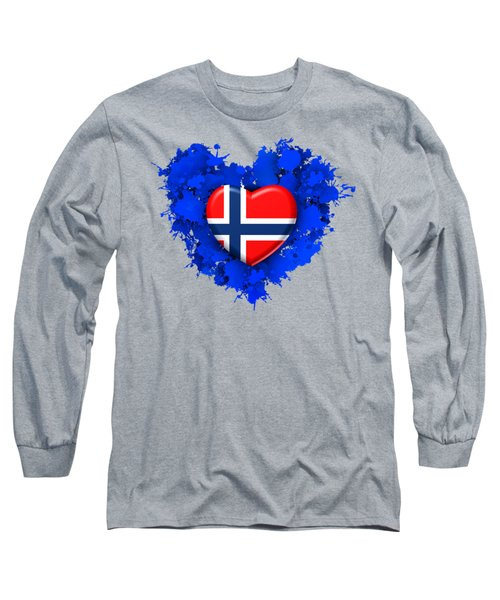 Love Norway Long Sleeve T-Shirt
