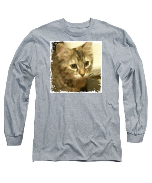 Ellie Kitty Long Sleeve T-Shirt by Anna Porter