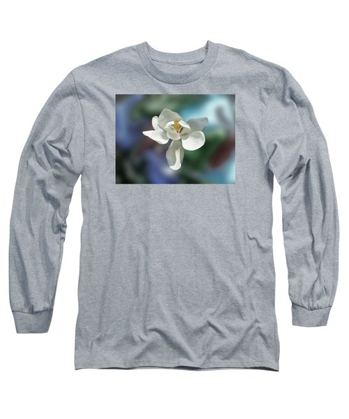 Long Sleeve T-Shirt featuring the photograph Magnolia by Helen Haw