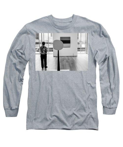Mca Chicago Aurora Circle Square Long Sleeve T-Shirt