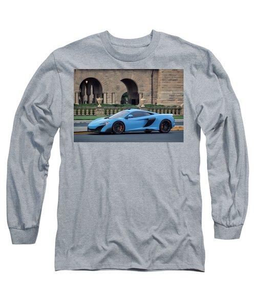 #mclaren #675lt With #pirelli #tires Long Sleeve T-Shirt