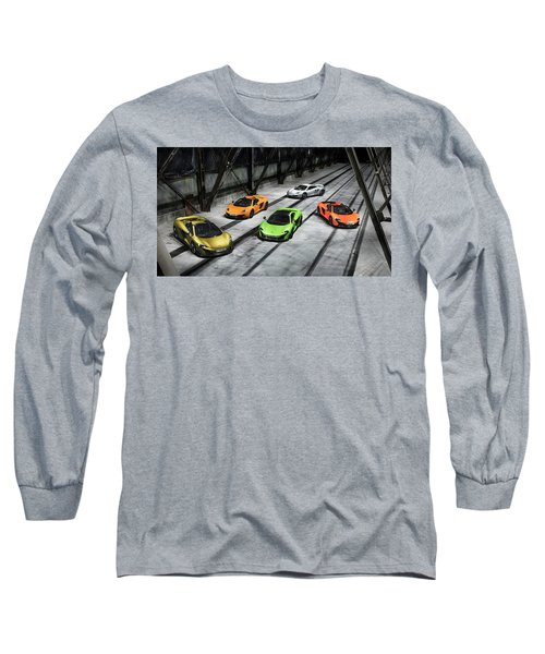 Mclaren Long Sleeve T-Shirt