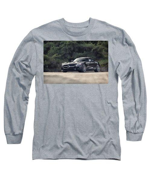 #mercedes #amg #gts Long Sleeve T-Shirt