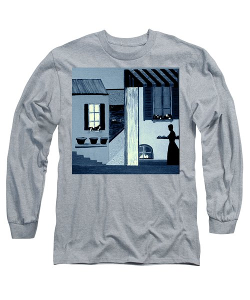 Midnight In Limoux Long Sleeve T-Shirt by Bill OConnor