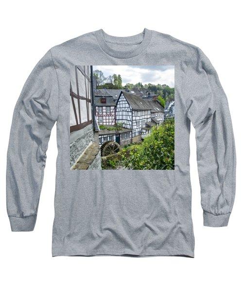 Monschau In Germany Long Sleeve T-Shirt
