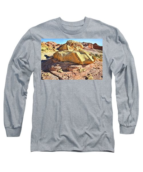 Morning In Wash 3 In Valley Of Fire Long Sleeve T-Shirt