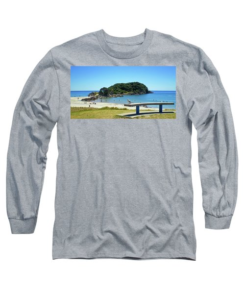 Mount Maunganui Beach 4 - Tauranga New Zealand Long Sleeve T-Shirt