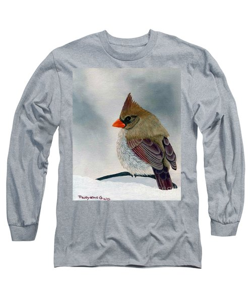 Mrs. Cardinal Long Sleeve T-Shirt