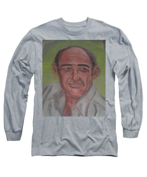 My Dad Long Sleeve T-Shirt by Val Oconnor