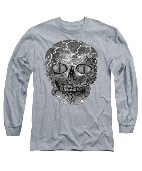 My Spooky Gothic Halloween  Long Sleeve T-Shirt