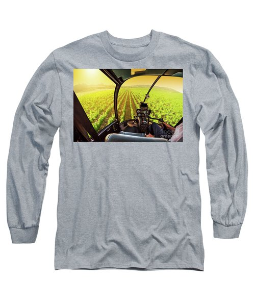Napa Valley Scenic Flight Long Sleeve T-Shirt