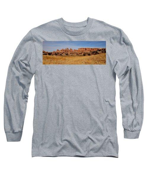 Needles At Canyonlands Long Sleeve T-Shirt
