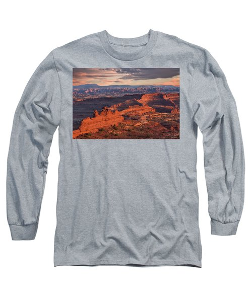 Needles Sunset From White Crack Long Sleeve T-Shirt