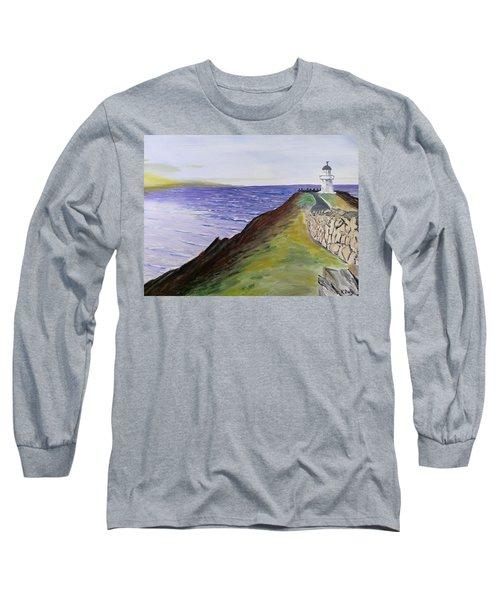 New Zealand Lighthouse Long Sleeve T-Shirt
