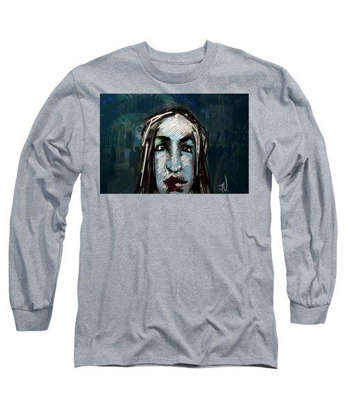 Night Life Long Sleeve T-Shirt by Jim Vance