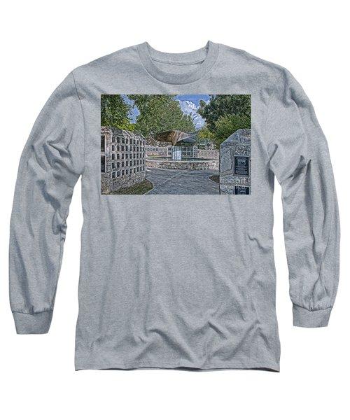 Nimitz Prop Fountain Long Sleeve T-Shirt